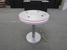 MOD-1453 Wireless Charging Table with Programmable LED Accent Lights